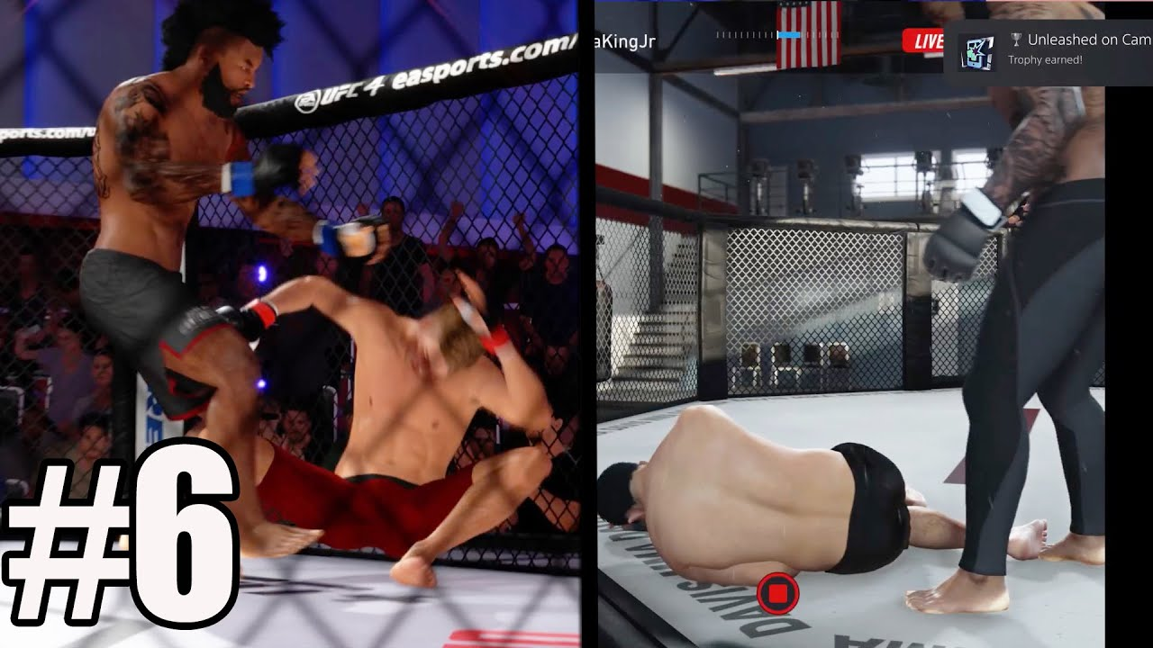 Download INSANE KNOCKOUT! INJURED TRAINER! EA SPORTS UFC 4 PS5 CAREER Gameplay #6