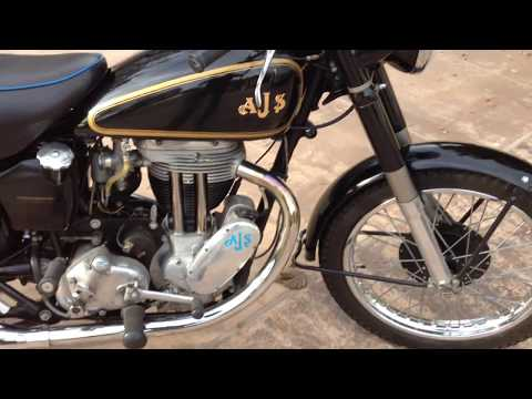 1951 AJS Model 18 Motorcycle For Sale