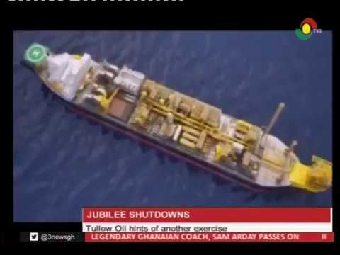 Tullow Oil hints of another Jubilee shutdowns - 12/2/2017
