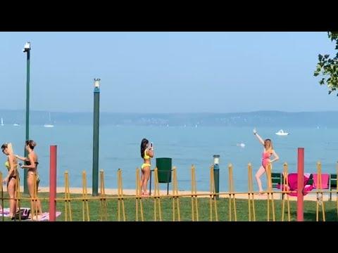 Hungary  Siófok 2019 summer lake Balaton 🇭🇺