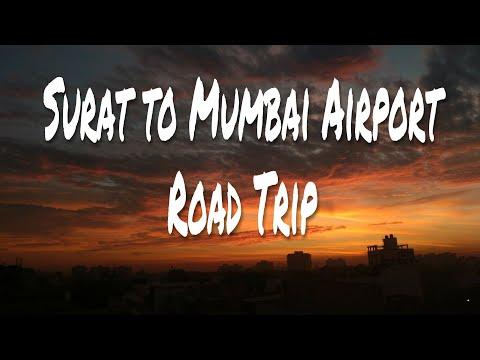 """Mumbai Airport : Surat to Mumbai Airport and """"it was awesome"""" car ride...🤘 : #prashantkumar"""