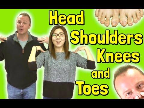 How to Teach Kindergarten Songs - Head Shoulders Knees and Toes for Teachers