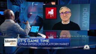 Zynga CEO Frank Gibeau on entering the cross-platform market