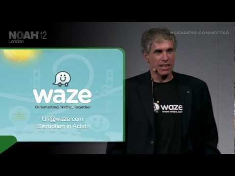 NOAH12 London - Waze, Uri Levine - YouTube