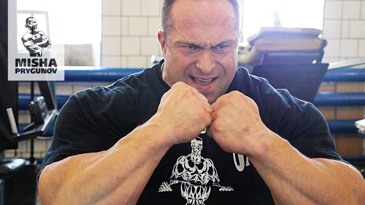 IFBB Pro Александр Федоров - тренировка плеч!