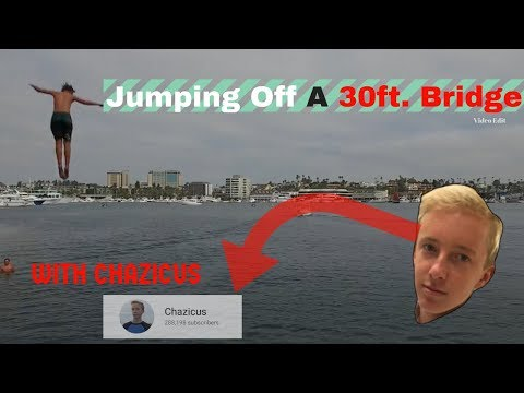 Lido Bridge Jumping With CHAZICUS (AGAIN) (Newport Lido Bridge) edit