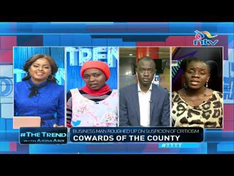 Cowards of Nairobi county rough up businessman on suspicion of criticism #TTTT