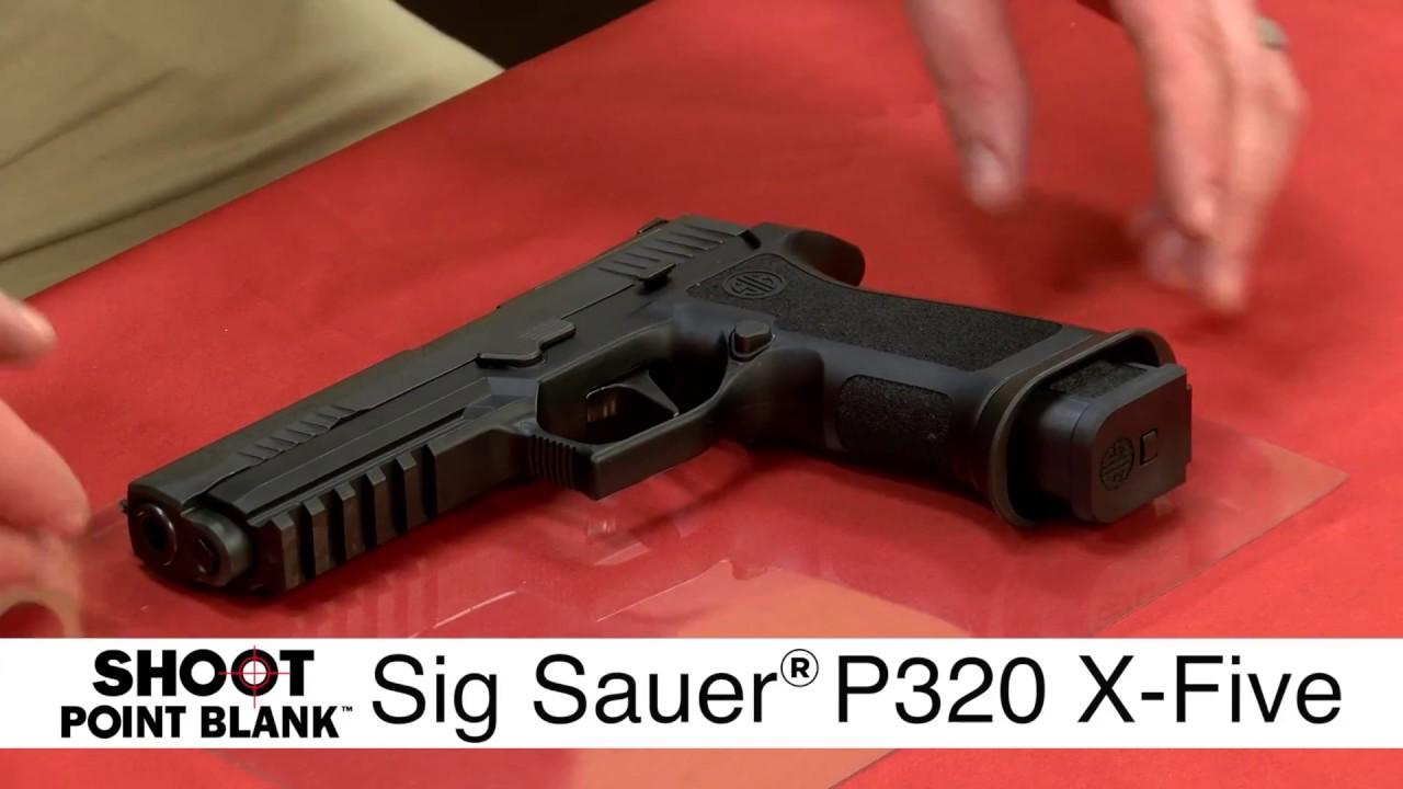 Sig Sauer P320 - How To Disassemble / Field Strip / Break Down A Sig Sauer  P320 Firearm