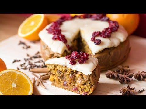 Quinoa Fruit Cake Recipe vegan and gluten free