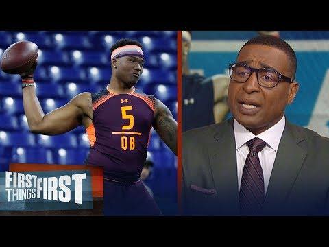 Cris Carter talks Dwayne Haskins draft stock & Cardinals QB decision | NFL | FIRST THINGS FIRST