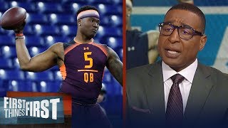 Cris Carter talks Dwayne Haskins draft stock & Cardinals QB decision | NFL | FIRST THINGS FIRST