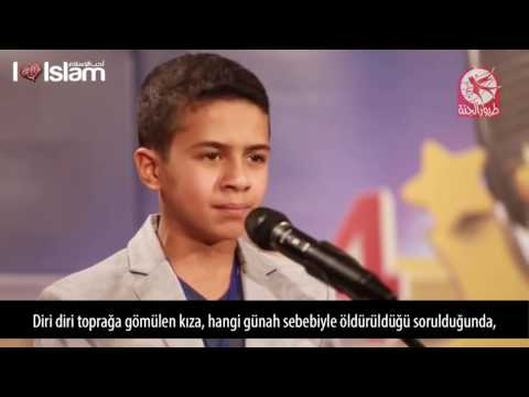 Ses yarışmasına katılan küçük çocuktan harika Kur'an tilavet indir