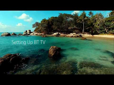 How To Set Up BT TV Box