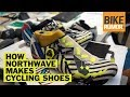 How Northwave cycling shoes are made