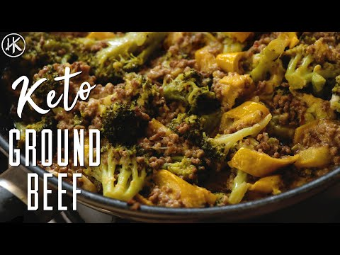Keto Ground Beef With Broccoli & Zucchini Stir Fry   Keto Recipe   Headbanger's Kitchen