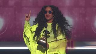 Download H.E.R. Wins Best R&B Album Presented by BTS | 2019 GRAMMYs Acceptance Speech