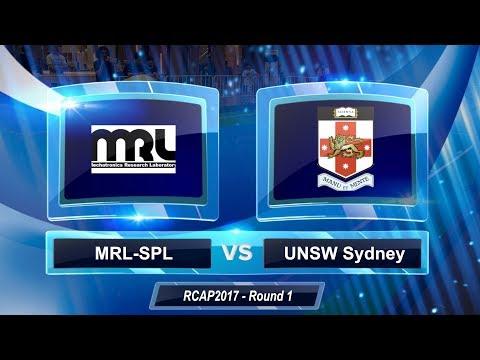 2017 RoboCup Asia-Pacific - Round 1 - MRL-SPL Vs UNSW Sydney