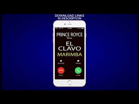Latest iPhone Ringtone - El Clavo Marimba Remix Ringtone - Prince Royce