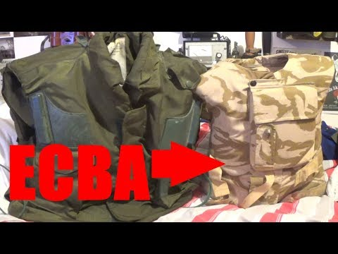 British ECBA Armour Review