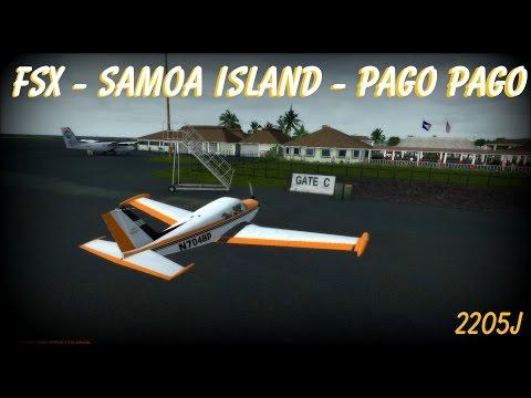 FSX - Samoa Island - Pago Pago