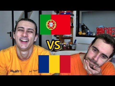 LANGUAGE CHALLENGE - Portuguese VS Romanian