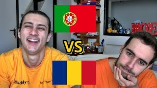 LANGUAGE CHALLENGE - Portuguese VS Romanian