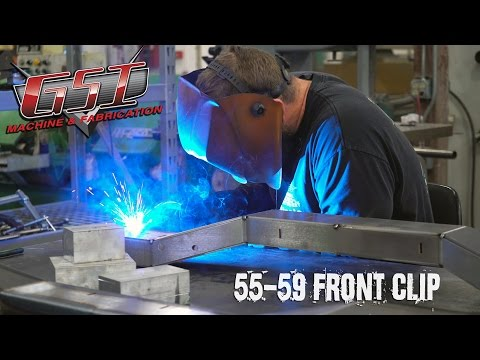 Kyle Welding - GSI '55-59 Chevy Front Clip