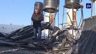 طائرات الاحتلال تشن غارات على اهداف للمقاومة في غزة - (19-2-2018)