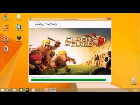 clash of clans auf computer spielen