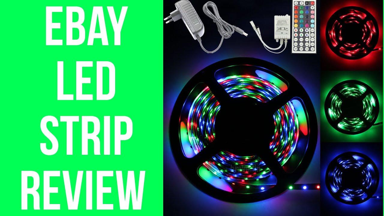 eBay LED Strip Lights Full Review