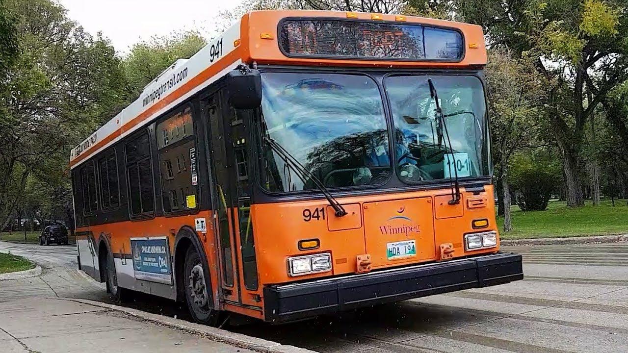 winnipeg bus driver test