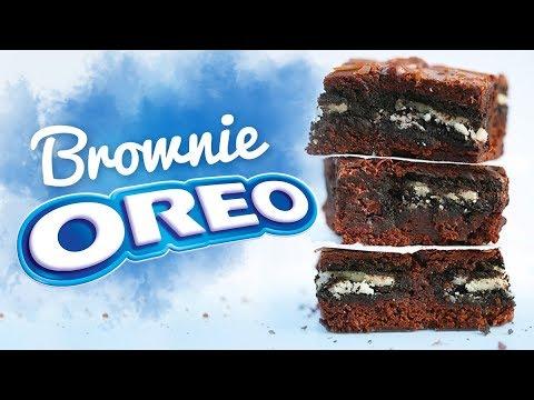 LA MEILLEURE RECETTE DE GÂTEAU AU CHOCOLAT : Brownies Oreo
