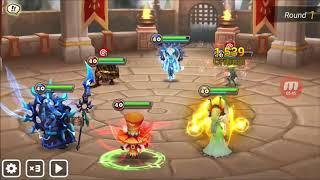 Summoners War - Guild War: Ares VS German Dragons
