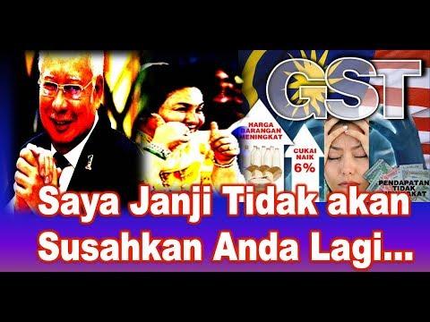 """Nga Kor Ming: Najib """"Janji"""" Tidak akan Susahkan Anda Lagi...(30-9-2017) Youtube"""