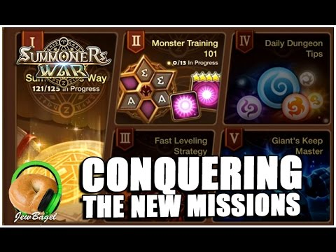 SUMMONERS WAR : Conquering the New Missions!