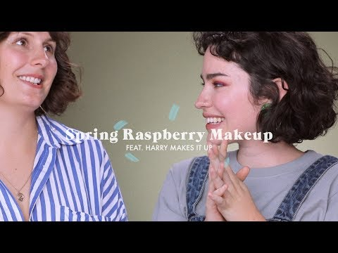 Spring Makeup For Green Eyes Feat. Harry Makes It Up