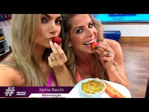 Alimentação - Karina Bacchi - Projeto Baba Baby