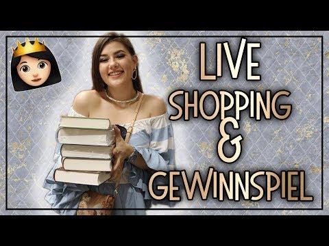 Live Shopping im OSIANDER | MILANEO | GEWINNSPIEL + BUCH HAUL / Neuzugänge