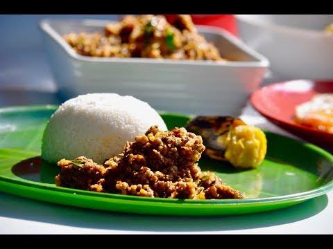 Nadan Cherupayar Puzhukku  Kerala Green Gram Dry Roast  Mung Dal Curry  Eps:211