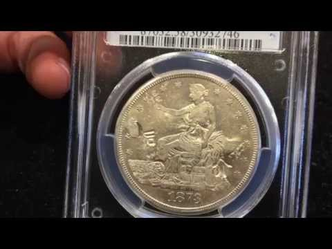 1873 CC Silver Trade Dollar