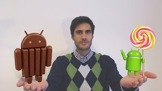 Android 4.4 KitKat VS Android 5 Lollipop - Comparativo de velocidade