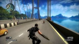 Just Cause 2 Open World Gameplay/ STUNT DRIVING