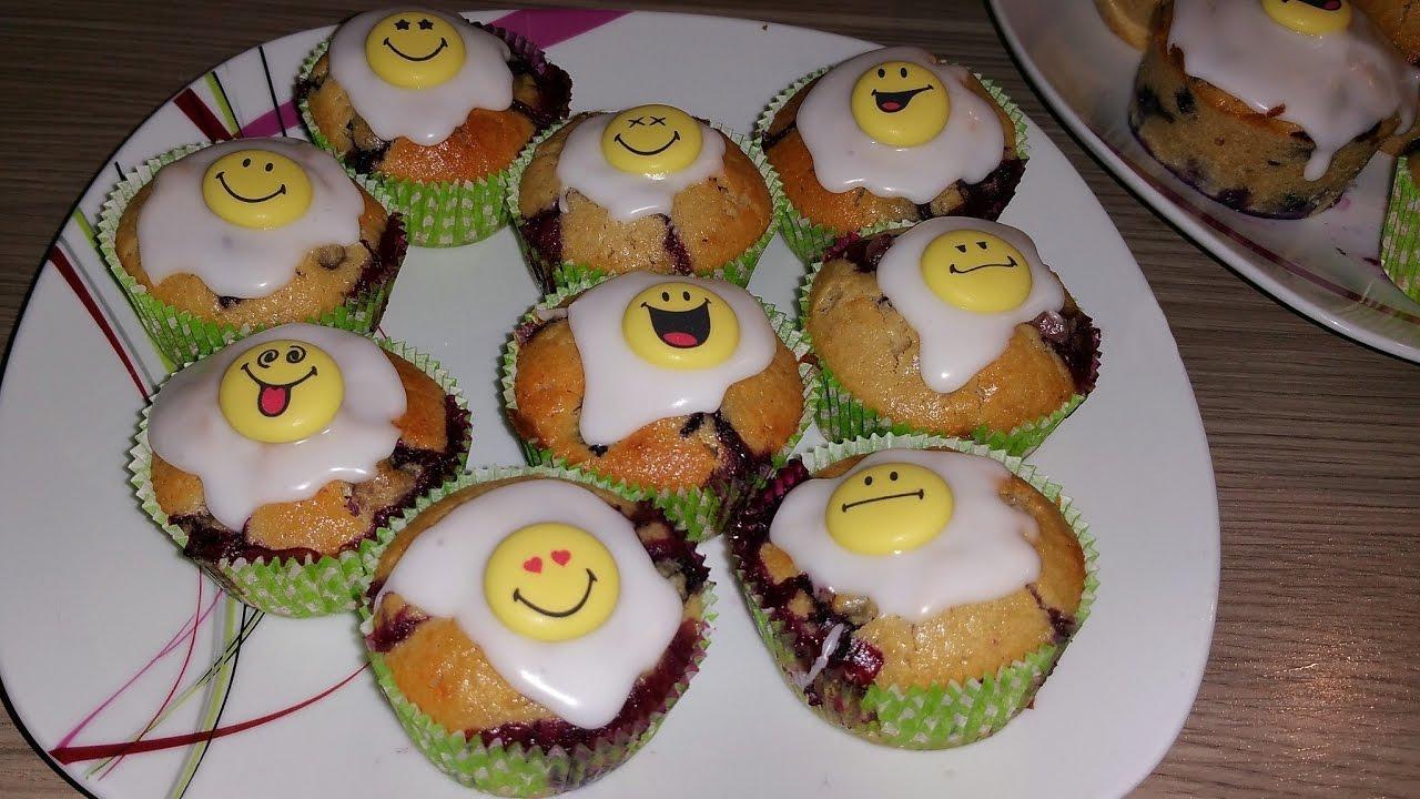 blaubeer muffins mit haferflocken blaubeermuffins youtube