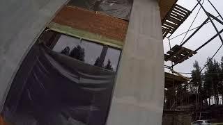 Утепление фасада минеральной ватой, обзор объекта!