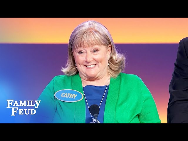 A strip poker party needs this! | Family Feud