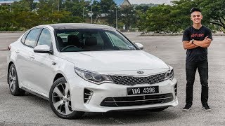 FIRST DRIVE 2017 Kia Optima GT Malaysian review RM175k