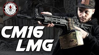 The G&G LMG, Perfect Budget Machine Gun? - RedWolf Airsoft RWTV