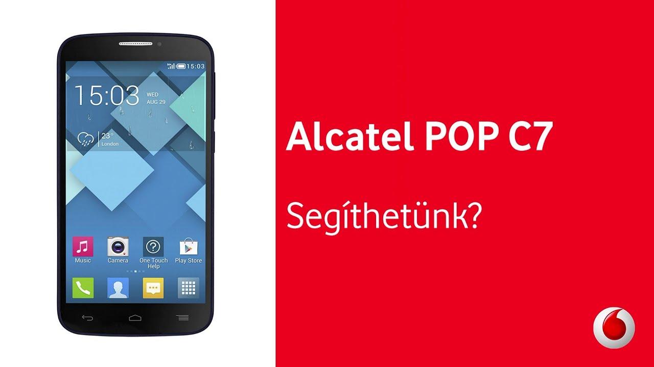 Alcatel Pop C7 A Vodafone-t U00f3l - Seg U00edthet U00fcnk