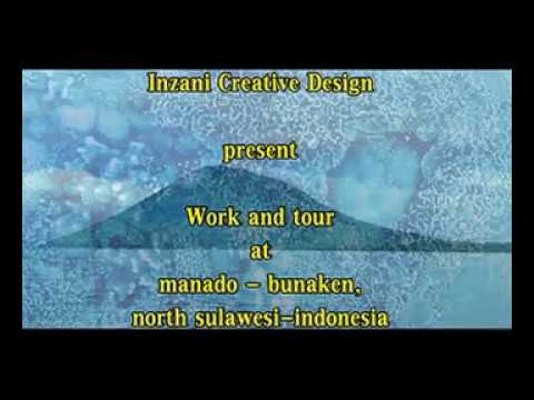 work and tour at Manado - Bunaken,north sulawesi - indonesia