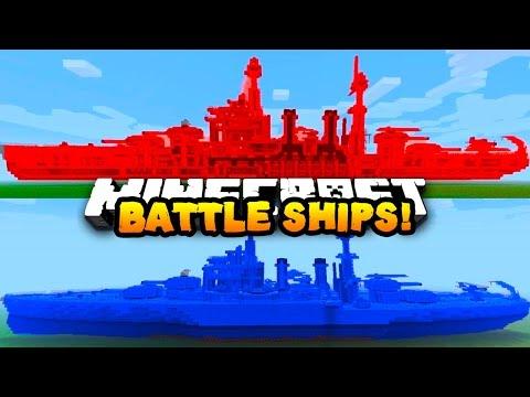 Minecraft RED VS BLUE BATTLE SHIP! #2   w/ PrestonPlayz & MrWoofless